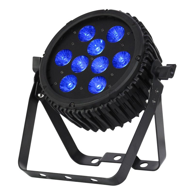 LEDJ Intense 9P10 RGBWA LED Slim Par - Hire from Audio Light Design | ALD Productions