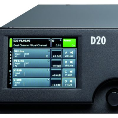 d&b D20 Amplifier Hire